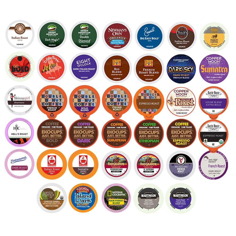Bold Coffee Variety Sampler Pack For Keurig K-Cup Brewers