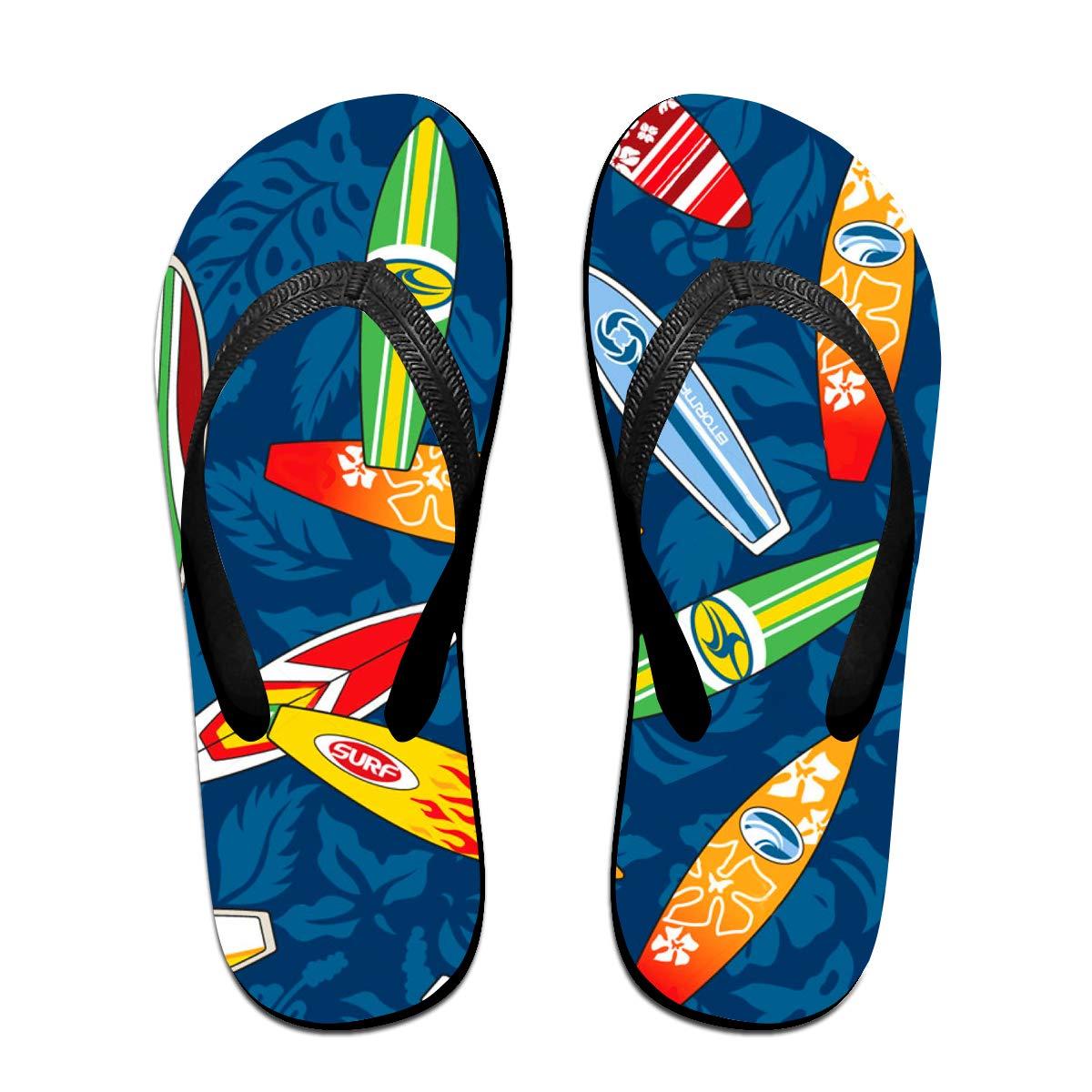 Various Surfboard Mens and Womens Light Weight Shock Proof Summer Beach Slippers Flip Flops Sandals