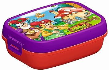 Kabouter Plop Mepl00001940 Lunch Box Amazon Es Juguetes Y Juegos