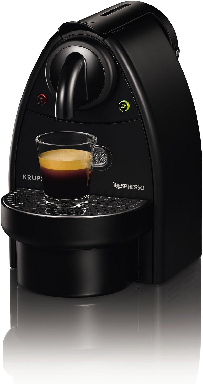 Nespresso Essenza Manual XN2003 Krups - Cafetera monodosis (19 bares), color negro: Amazon.es: Hogar