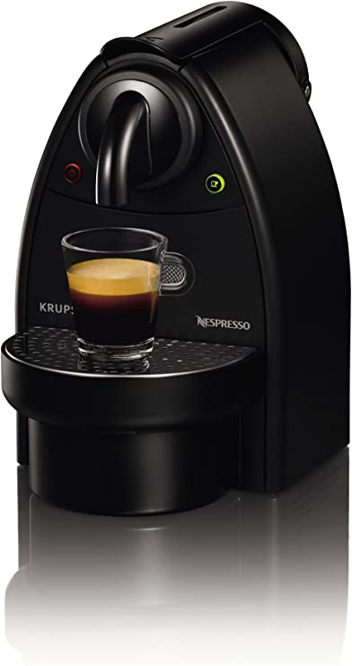Nespresso Essenza Manual XN2003 Krups - Cafetera monodosis (19 bares), color negro: Amazon.es: Hogar