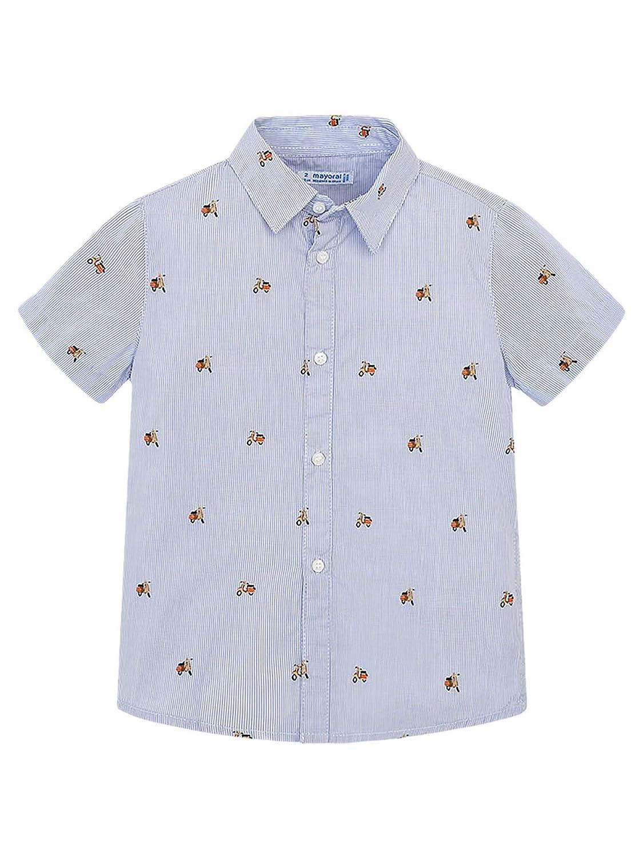 Mayoral, Camisa para niño - 3130, Morado: Amazon.es: Ropa y accesorios