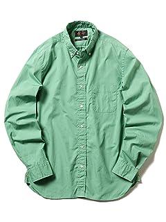 Broadcloth Buttondown Shirt 11-11-5201-139: Cobalt Green