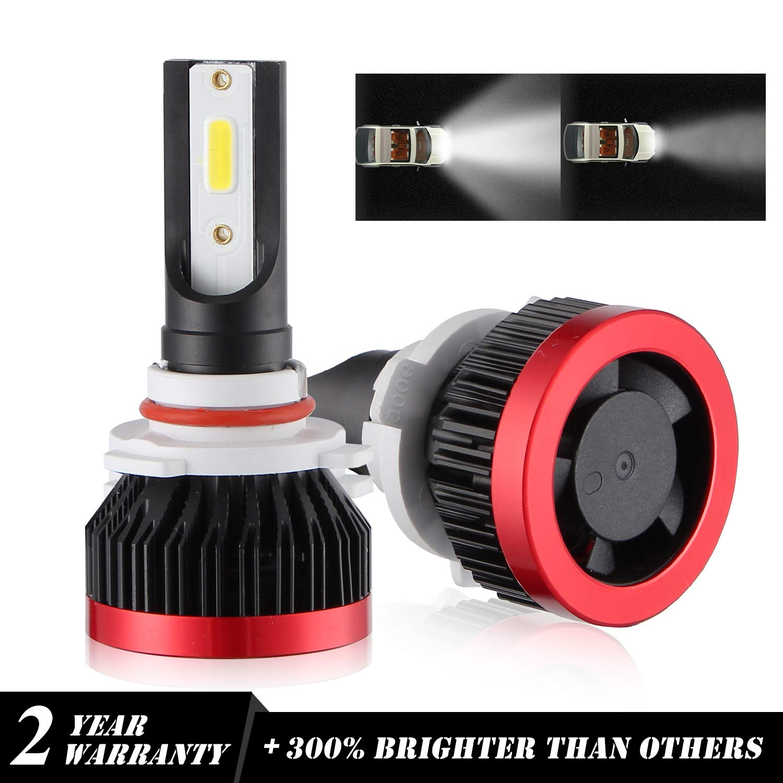 Kit Philips LED Chip Headlight H9 Faro a LED H11 6000K LED Proiettore 48W 6000LM H8 Bi-Xeno Lampadine Bianco Freddo Auto Driving Lamps Sostituzione 2 Anni Garanzia Alogene o HID