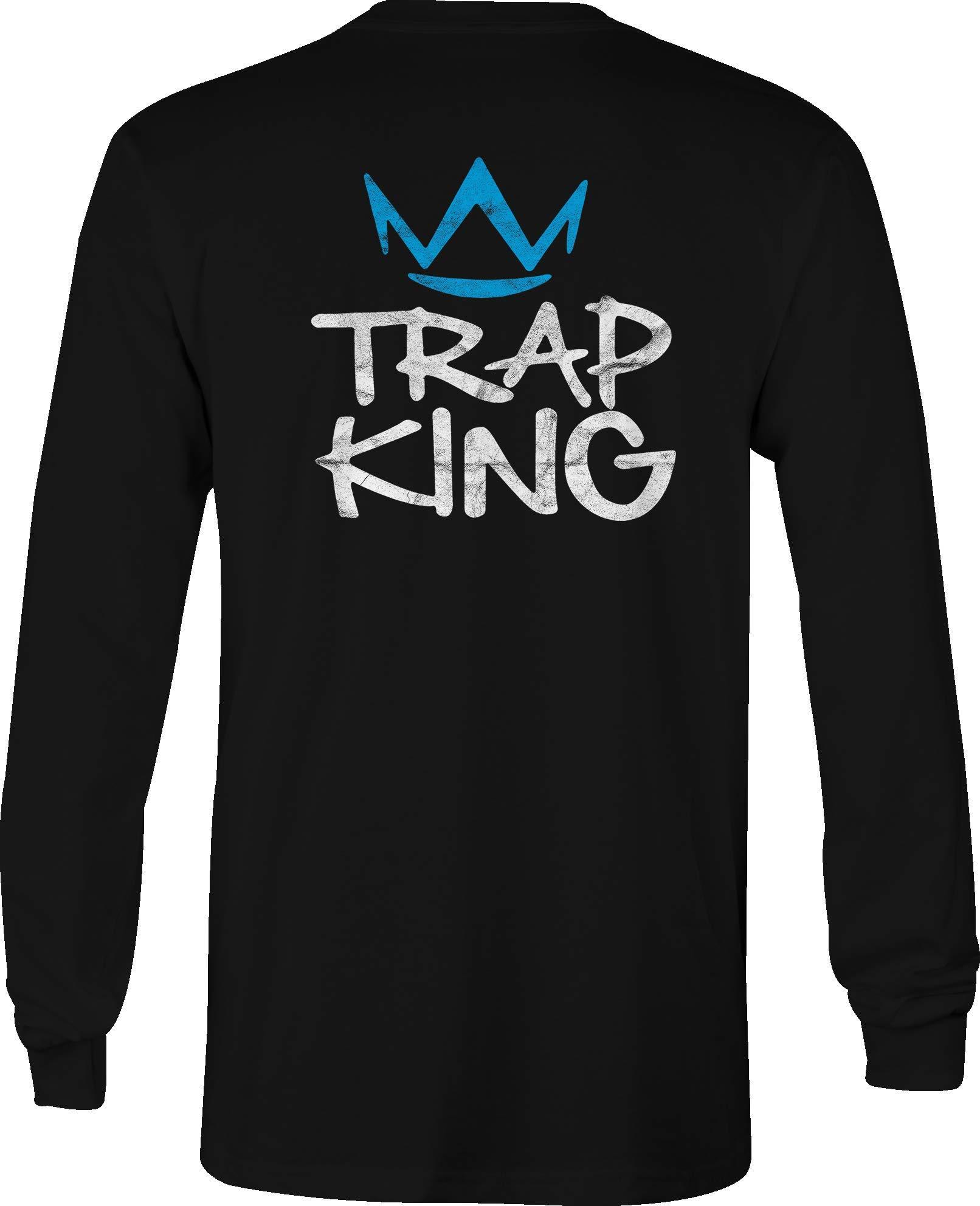 T Shirt Trap King Crown Music Rap Culture Vides Leader Hip Hop 1864
