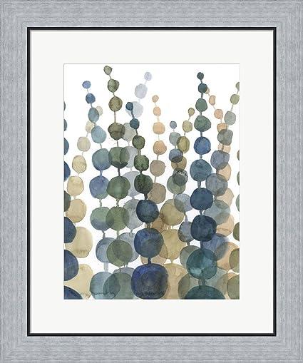 Amazon.com: Pompom Botanical II by Megan Meagher Framed Art Print ...
