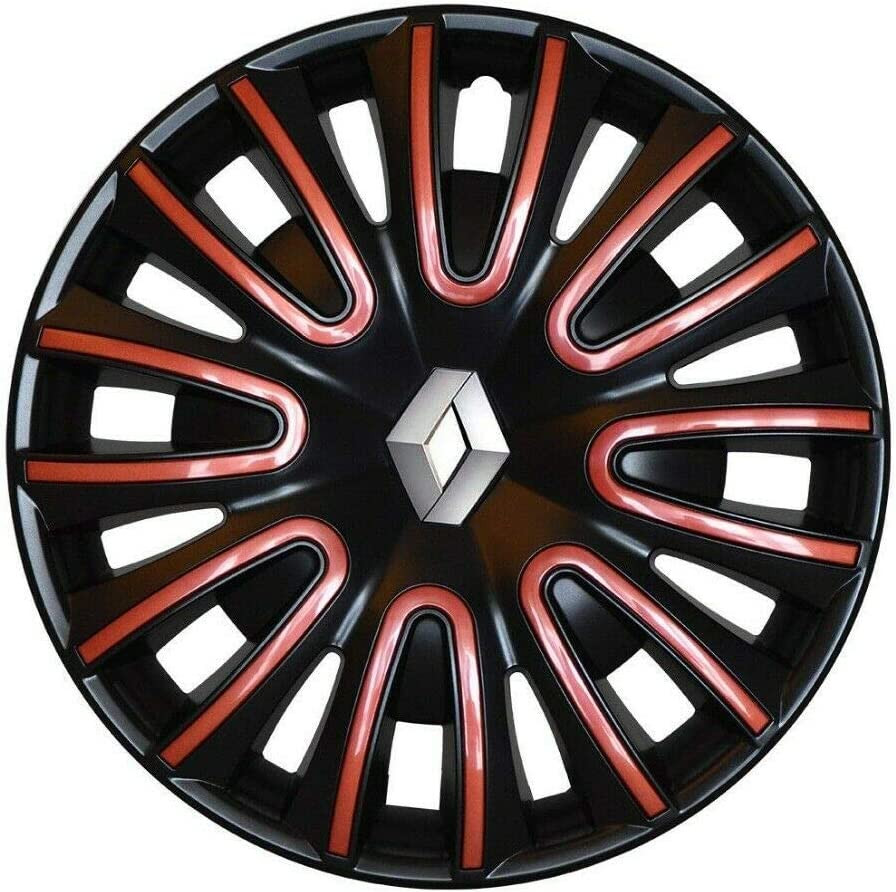 Renault Coppa Rad 15 Zoll Quartz rot Fiamma Clio TWINGO Original
