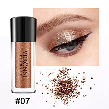 Fenleo Diamond Eye Shadow Makeup Pearl Metallic Eyeshadow Makeup 12 Colors Available
