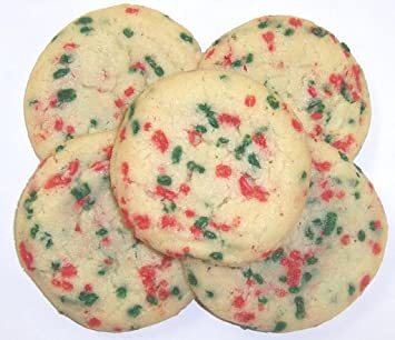 Amazon Com Scott S Cakes 5 Lb Red Green Jimmie Cookies