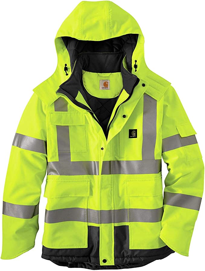 Stormline 242 Hi Viz 100/% PVC Waterproof Workwear Class 3 Jacket