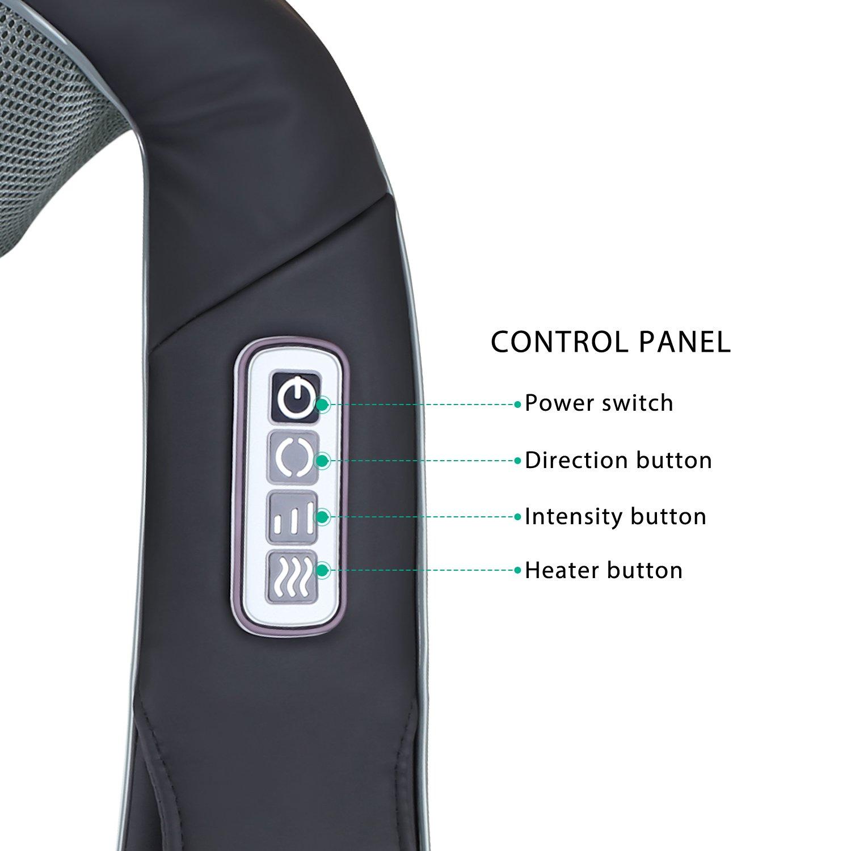 Naipo MGS-321 Nackenmassagegerät Bedienung
