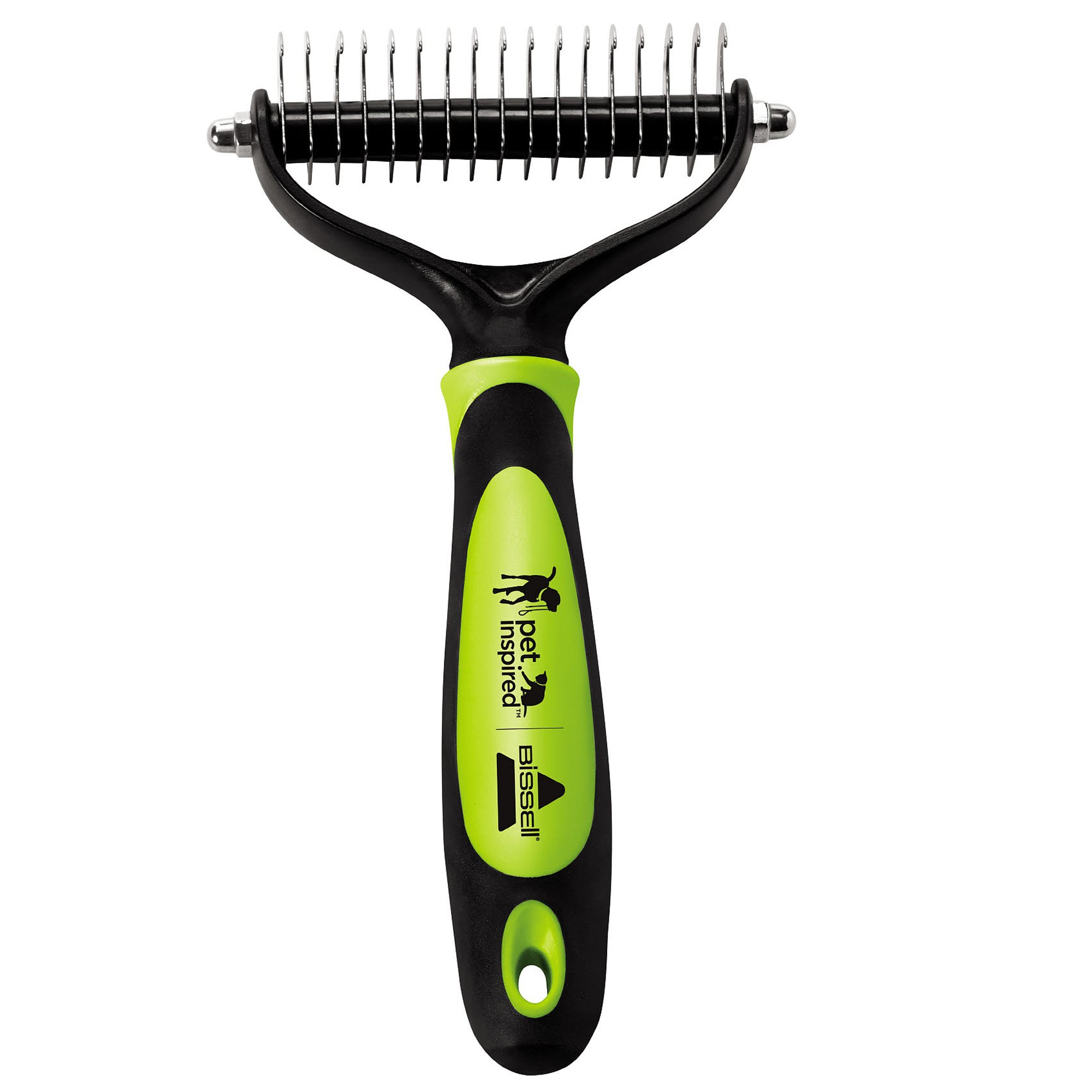 Bissell FURGET IT Cat and Dog Grooming Brush with Shedding and Dematting, 2064A