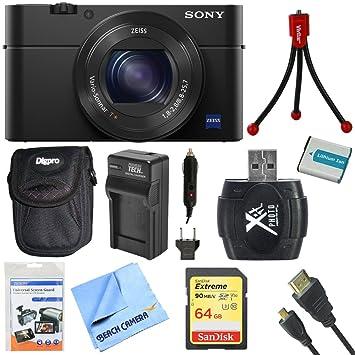 Amazon.com: Sony DSC-RX100 M4 DSC-RX100 M4/B dsc-rx100miv ...