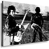 Bruce Springsteen Leinwandbild Motiv 76 x 41/cm