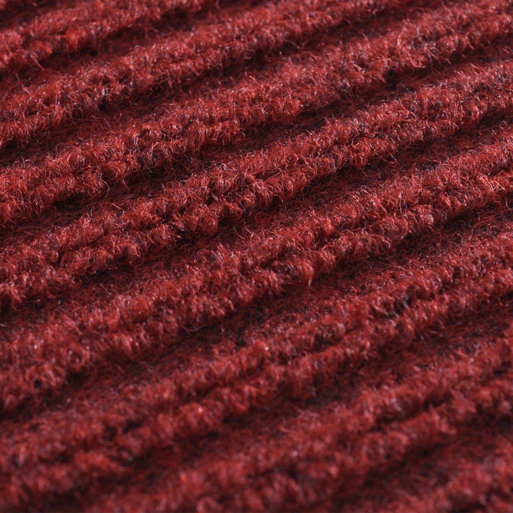 90 x 150 cm Festnight Alfombra de Entrada Color de Rojo Material de PVC