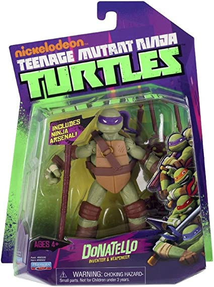 Amazon.com: Teenage Mutant Ninja Turtles Donatello: Toys & Games