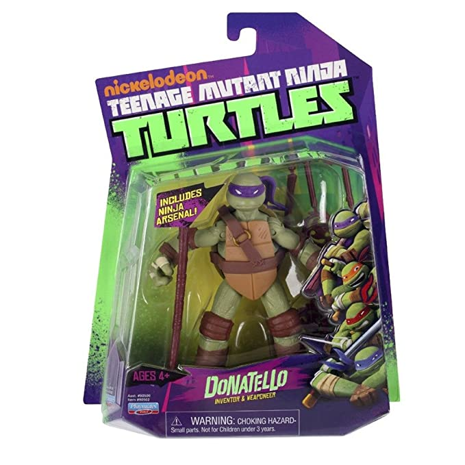 Teenage Mutant Ninja Turtles Donatello Figura De Acción