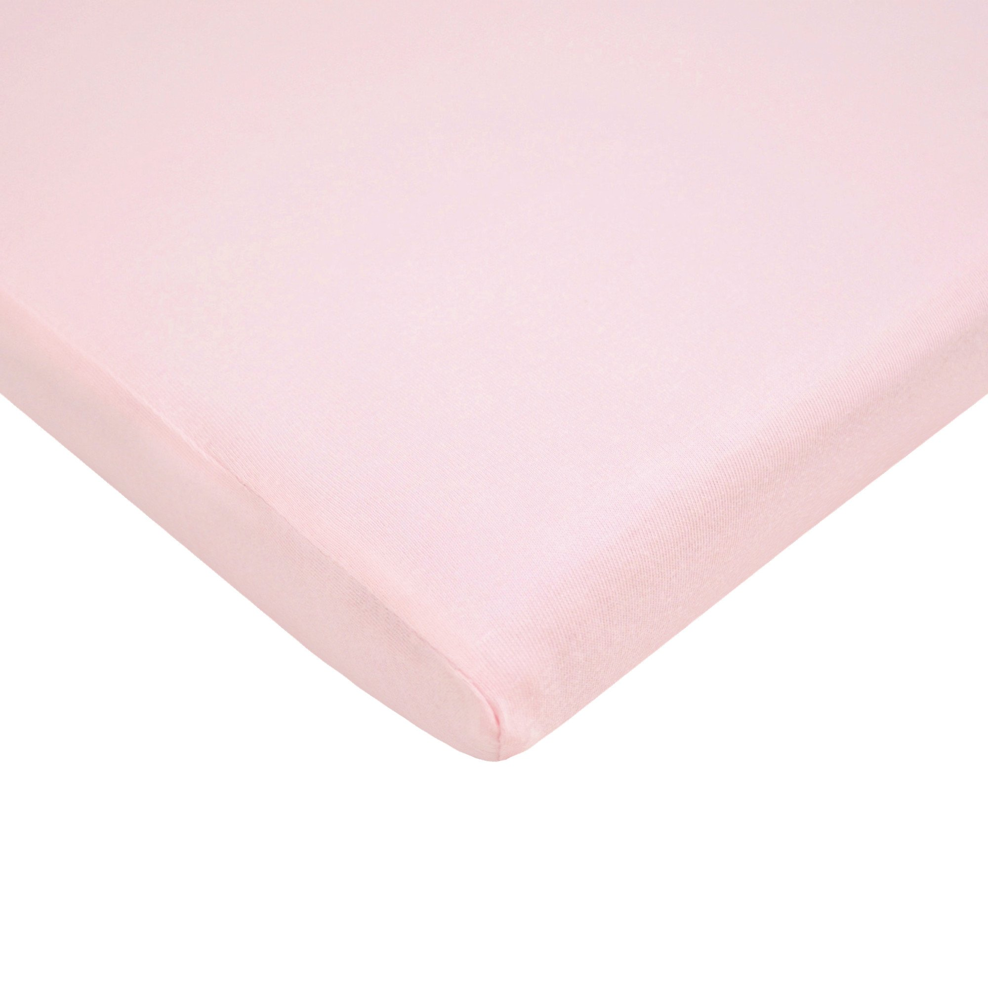 American Baby Company 100% Natural Cotton Value Jersey Knit  Fitted Bassinet Sheet, Pink, Soft Breathable, for Girls