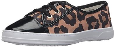 Anne Klein AK Sport Women's Zagger Fashion Sneaker, Natural Multi, 5.5 M US