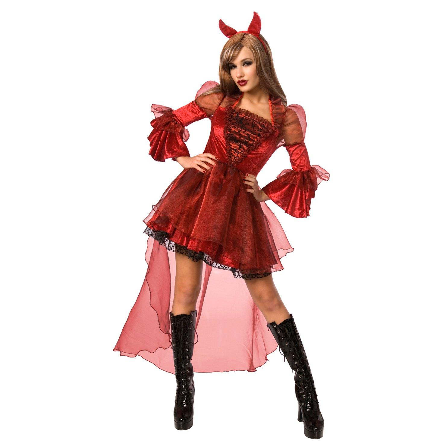 Diablesa Maga Bruja Malvada Disfraz - Medio: Amazon.es: Juguetes y ...