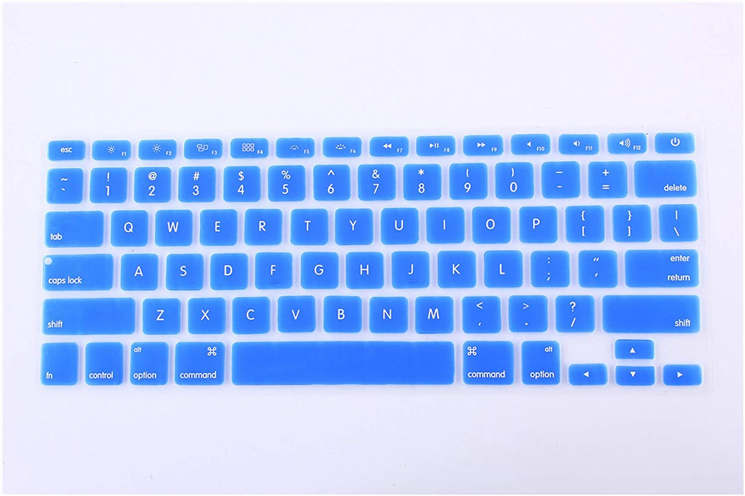 Us Version for MacBook Pro 15 Inch A1286 Keyboard Cover Protector Skin,Backlit-Red,China