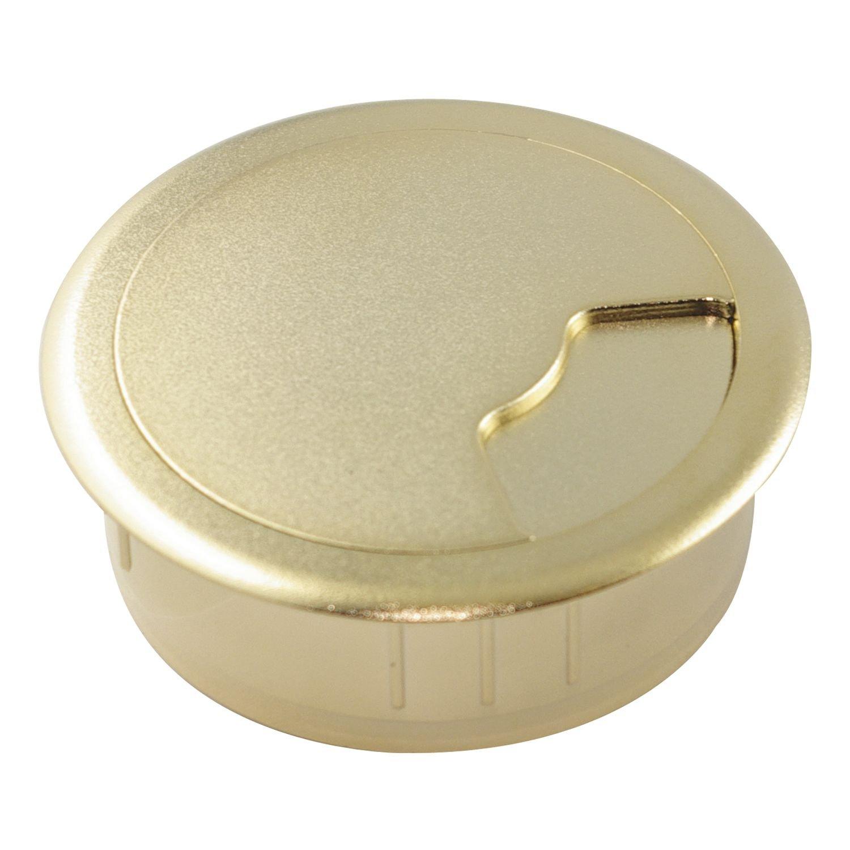 SECOTEC runder Kabeldurchlass D60mm gold; 1 Kabeldurchgang 60 mm; 1 St/ück
