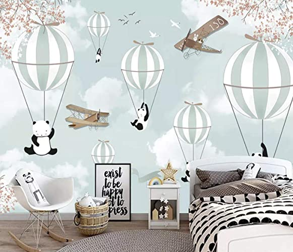 Amazon Com Murwall Kids Wallpaper Cartoon Panda Wall Mural