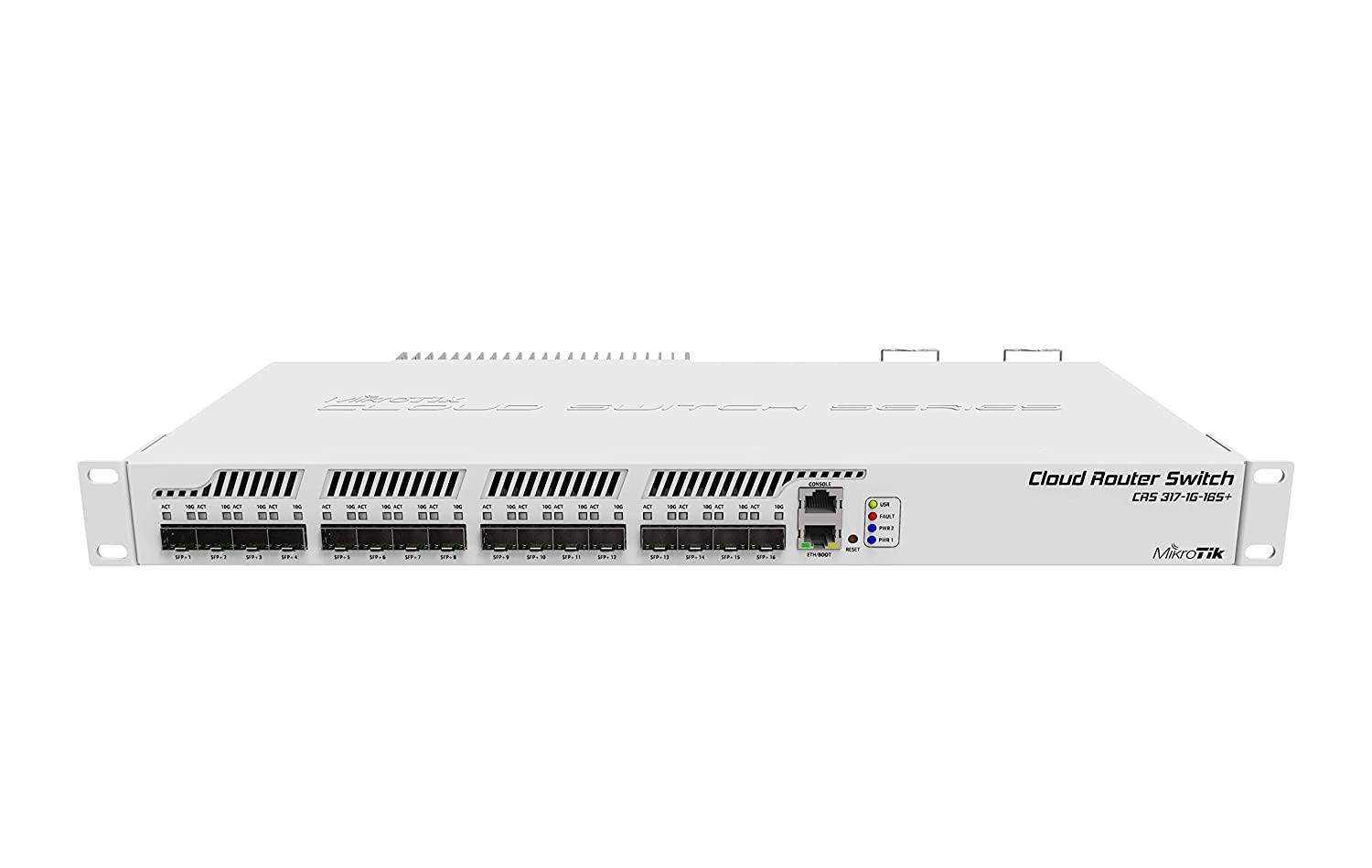 CRS317-1G-16S+RM MikroTik Cloud Router Switch Rack-mountable Manageable Switch with Layer 3 Features