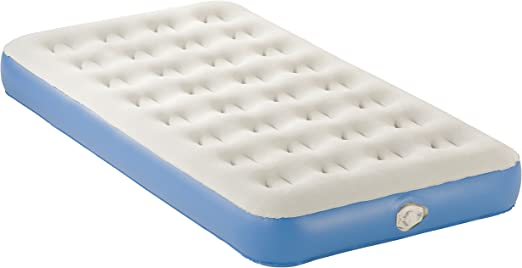 """Pillow Carry Bag Aerobed Twin Size Inflatable Air Mattress 9/"""" H /& Electric Pump"""