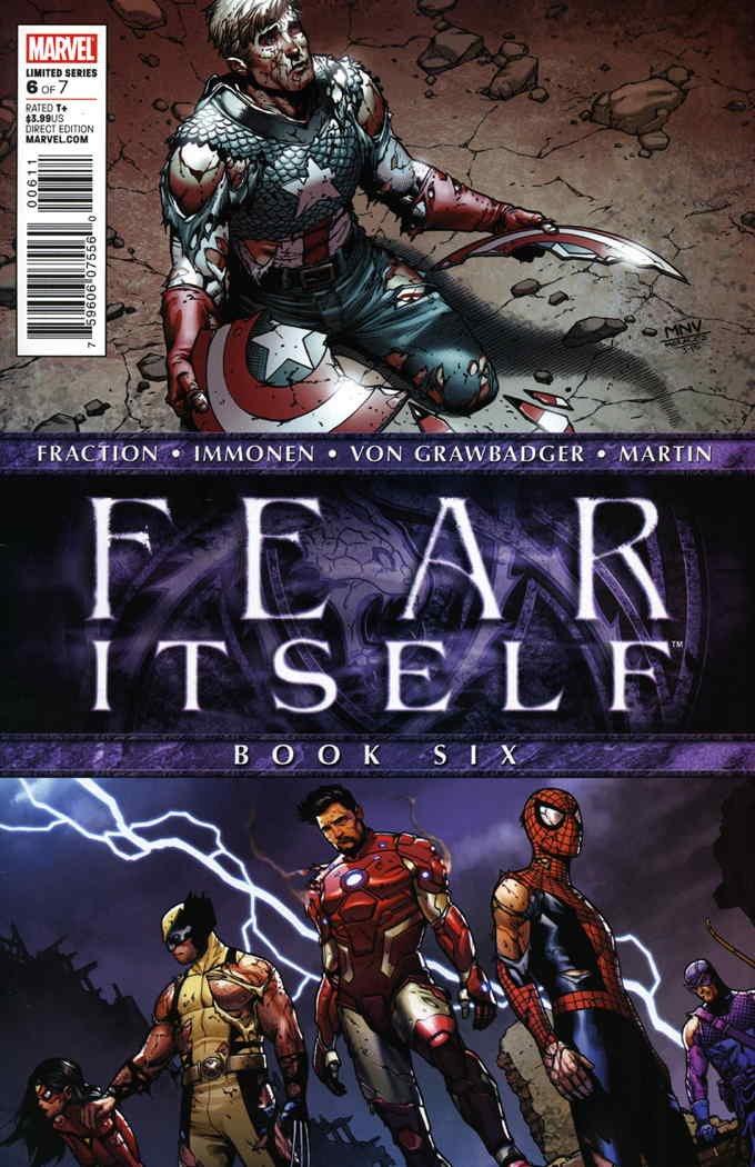 Fear Itself #6 VG ; Marvel comic book