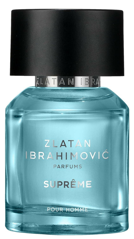 Colonia Hombre ZLATAN SUPRÊME EdT Perfumes De Hombre de Zlatan Ibrahimović - Colonias y Perfumes Fuerte y Elegante de Deporte - Regalos Originales 50ml: ...