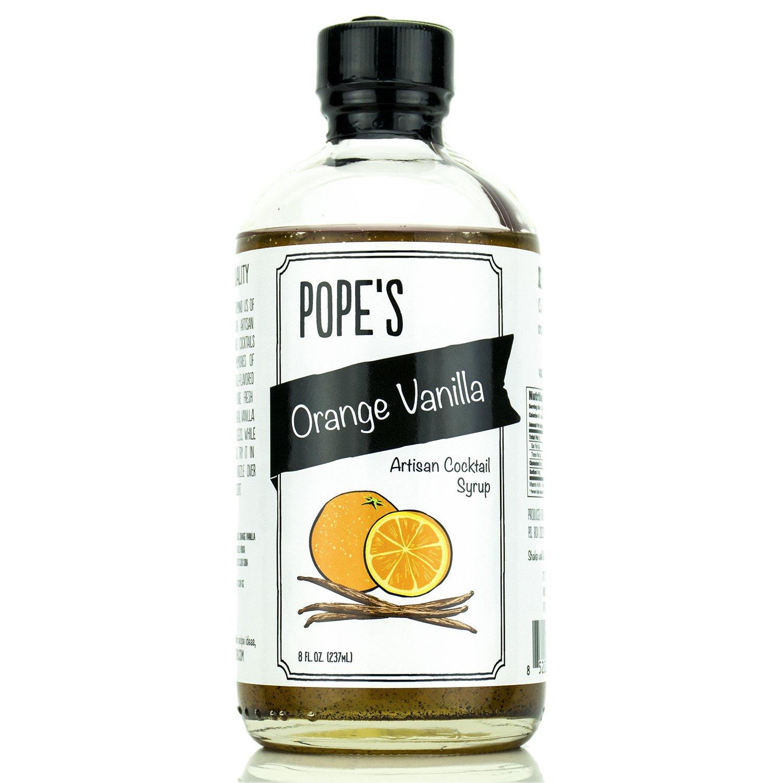 Pope's Orange Vanilla Syrup