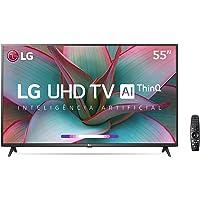 "Smart TV 55"" 4K LG 55UN7310PSC, UHD, WiFi, Bluetooth, HDR, Inteligência Artificial ThinQAI, Controle Smart Magic, Google…"