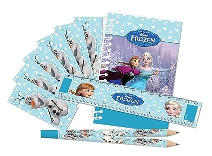 COOLMP - Lote de 3 Paquetes de papelería Frozen - Talla ...