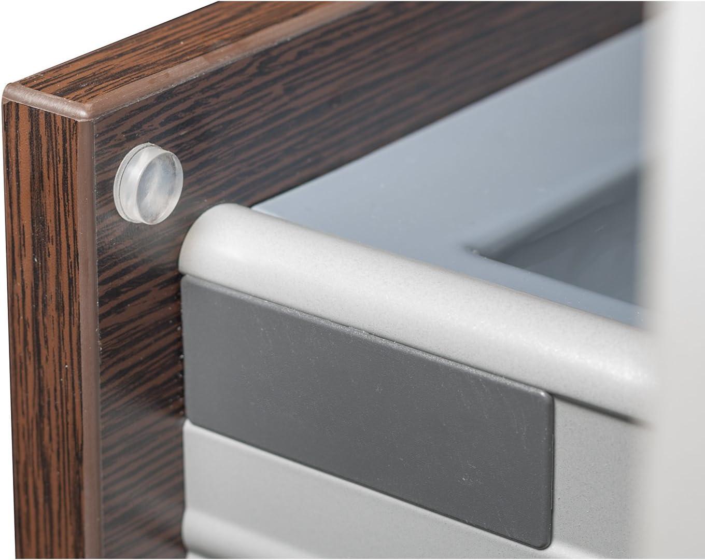 Plastique 0,4/x 0,4/x 0,4/cm Westmark 52242280/antid/érapante et Bruit Tampon Transparent