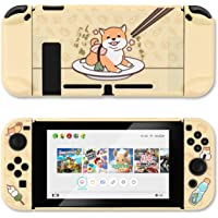 GeekShare Protective Case Slim Cover Case for Nintendo Switch and Joy Con - Shock-Absorption and Anti-Scratch (Shiba Inu…