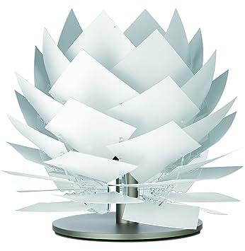 Nachttisch Lampe Für Schlafzimmer Wohnzimmer Kinderzimmer Tischlampe Lampen Schirm  Weiß Deko Beleuchtung Design Tischleuchte