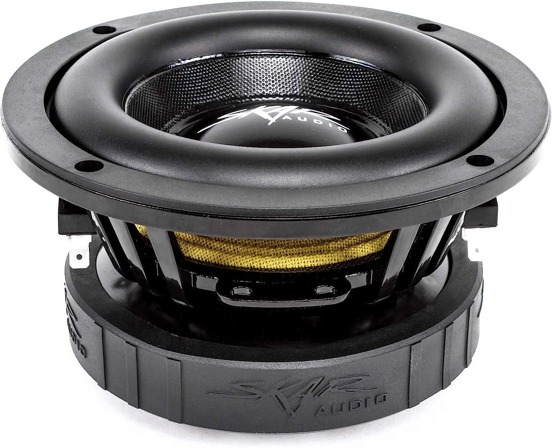Skar Audio EVL-65 D4 6.5 400 Watt Max Power Dual 4 Ohm Car Subwoofer