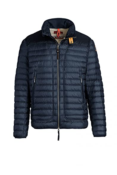 Parajumpers Men's Quilted Arthur Down Jacket Blue M