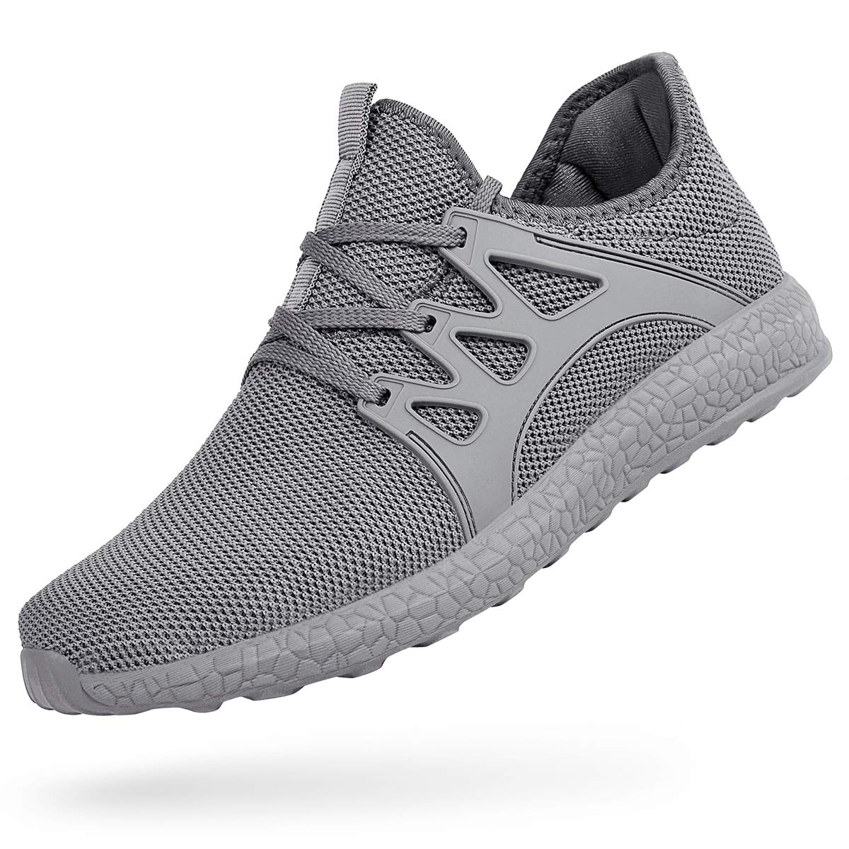 ZOCAVIA Men Women Trainers Lightweight Running Sports Shoes Outdoor Non Slip Walking Gym Fitness Athletic Shoes