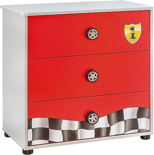 Cilek Race Cup 4 Drawer Dresser