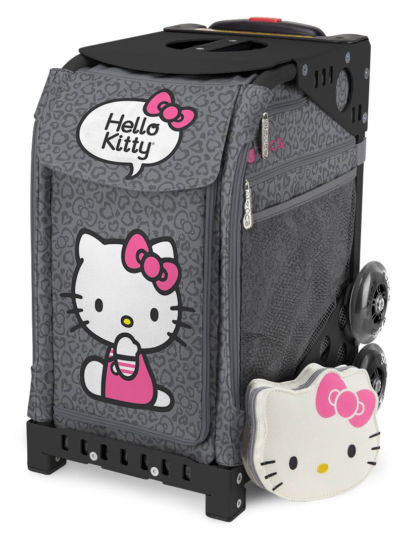 ZUCA Hello Kitty Sport Insert Bags (Frames Sold Separately) - Choose Your Design! (Leopard)