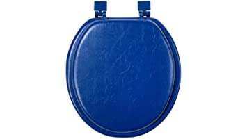 Soft Padded Toilet Seat Dark BlueSoft Padded Toilet Seat Dark Blue  Amazon co uk  DIY   Tools. Dark Blue Toilet Seat. Home Design Ideas