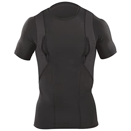 5.11 Tactical S/S Holster Shirt, Black, Small