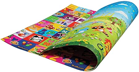 Play Mat For Babies, Toddlers and Kids PEP STEP Large Baby Mat 70 inch x 78 inch Latest Child-Friendly Cushioning Technology Non-Toxic Tested Safety Standards Baby Learning Development Design