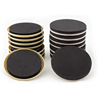 Furniture Moving Kit - Set of 16 Furniture Sliders, Coasters for Carpet and Hardwood, Tile Floor