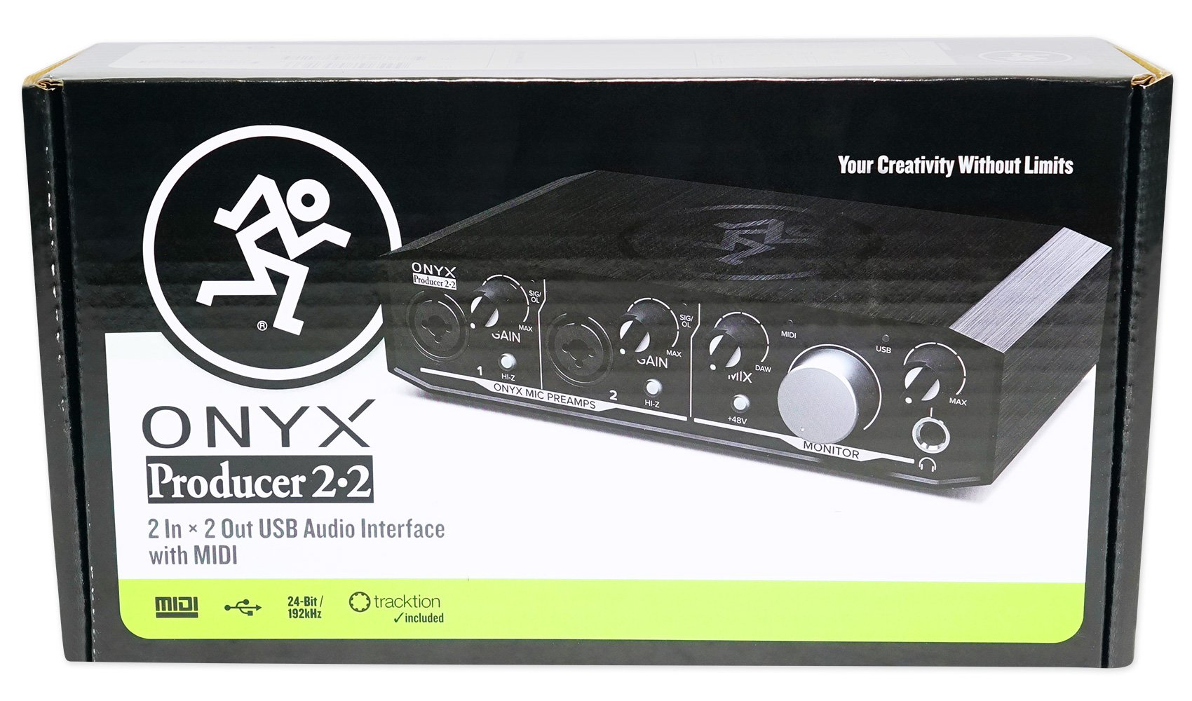 Mackie Onyx Producer 2.2 2x2 USB Audio MIDI Recording Studio Interface + Stand by Mackie (Image #7)