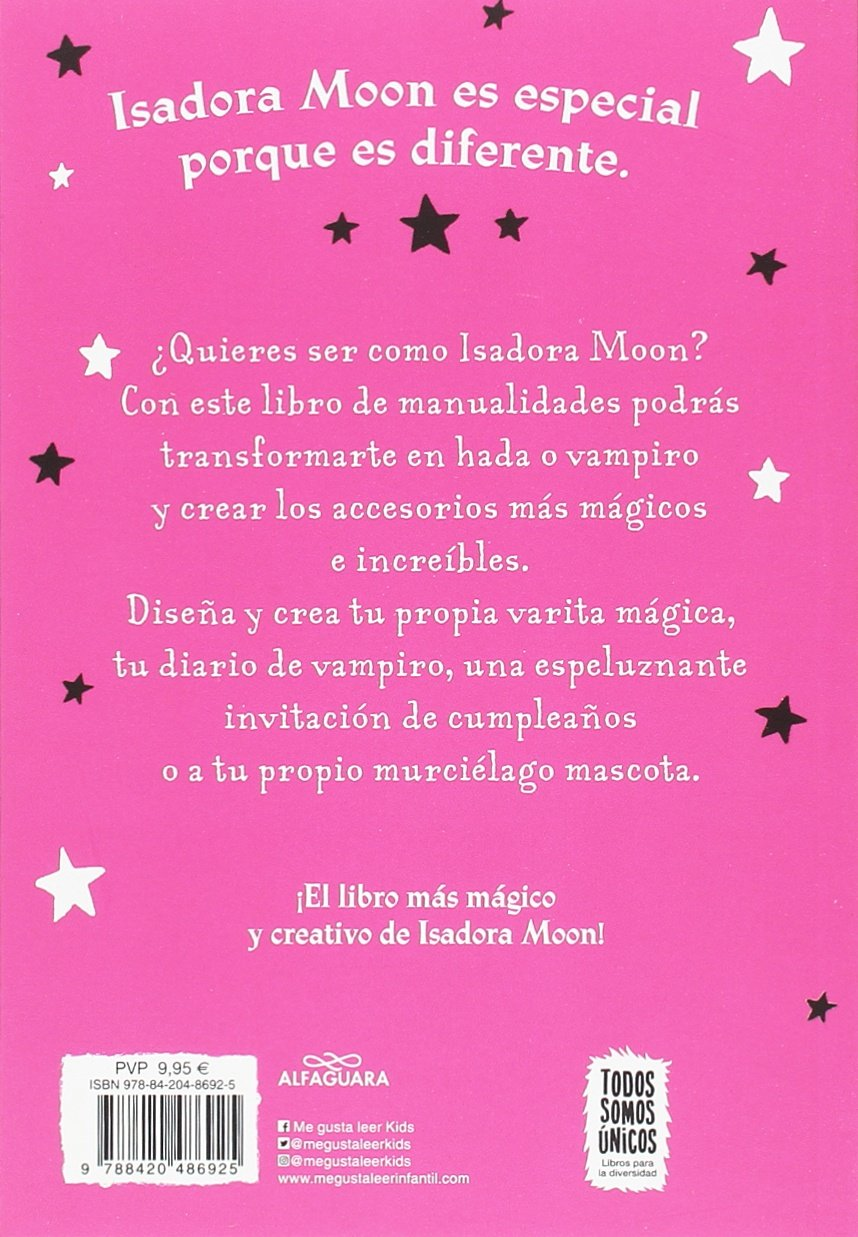 Isadora Moon y las manualidades mágicas / Isadora Moon and Magical Arts and Crafts (Spanish Edition): Harriet Muncaster: 9788420486925: Amazon.com: Books