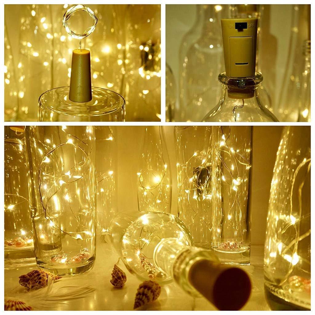 2M 20LED Wine Bottle Cork String Light (Pack of 1)