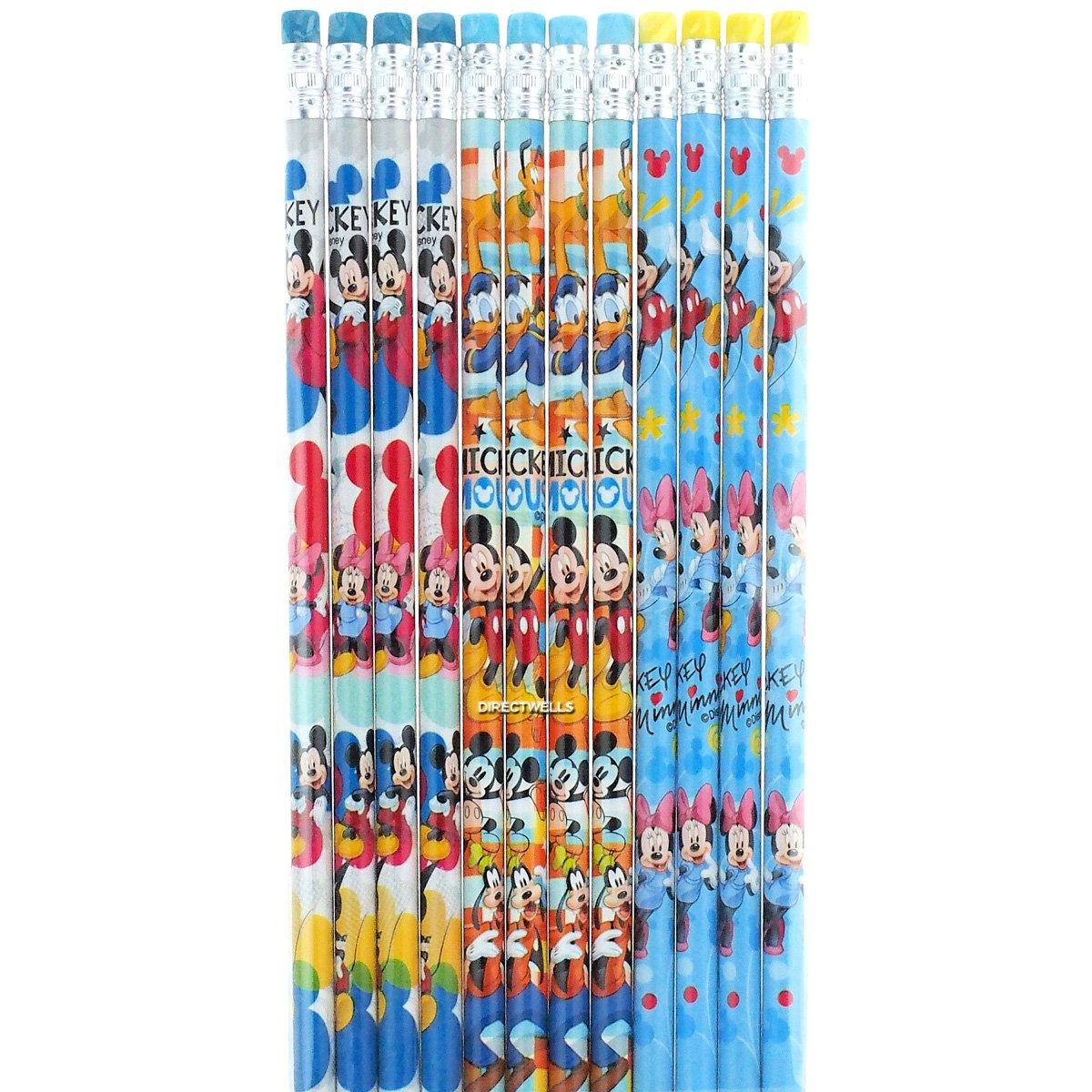 Disney Mickey Mouse and and and Friends 12 Wood Pencils Pack | Fashionable  | Molte varietà  | Alta qualità ed economia  | Di Alta Qualità  | Vinci molto apprezzato  | caratteristica  | Intelligente e pratico  | Varietà Grande  | Bella arte  | Aspetto At 642178